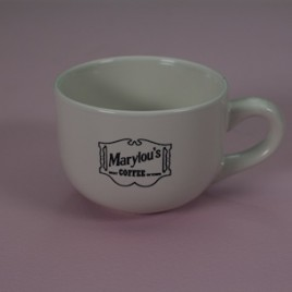 16 oz. Ceramic White Mug