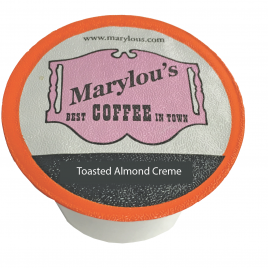 """Toasted Almond Creme """"M-Cups"""""""