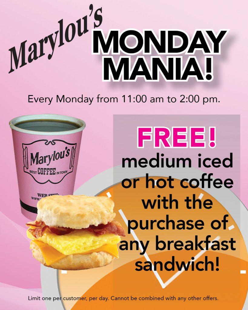 Monday Mania graphic