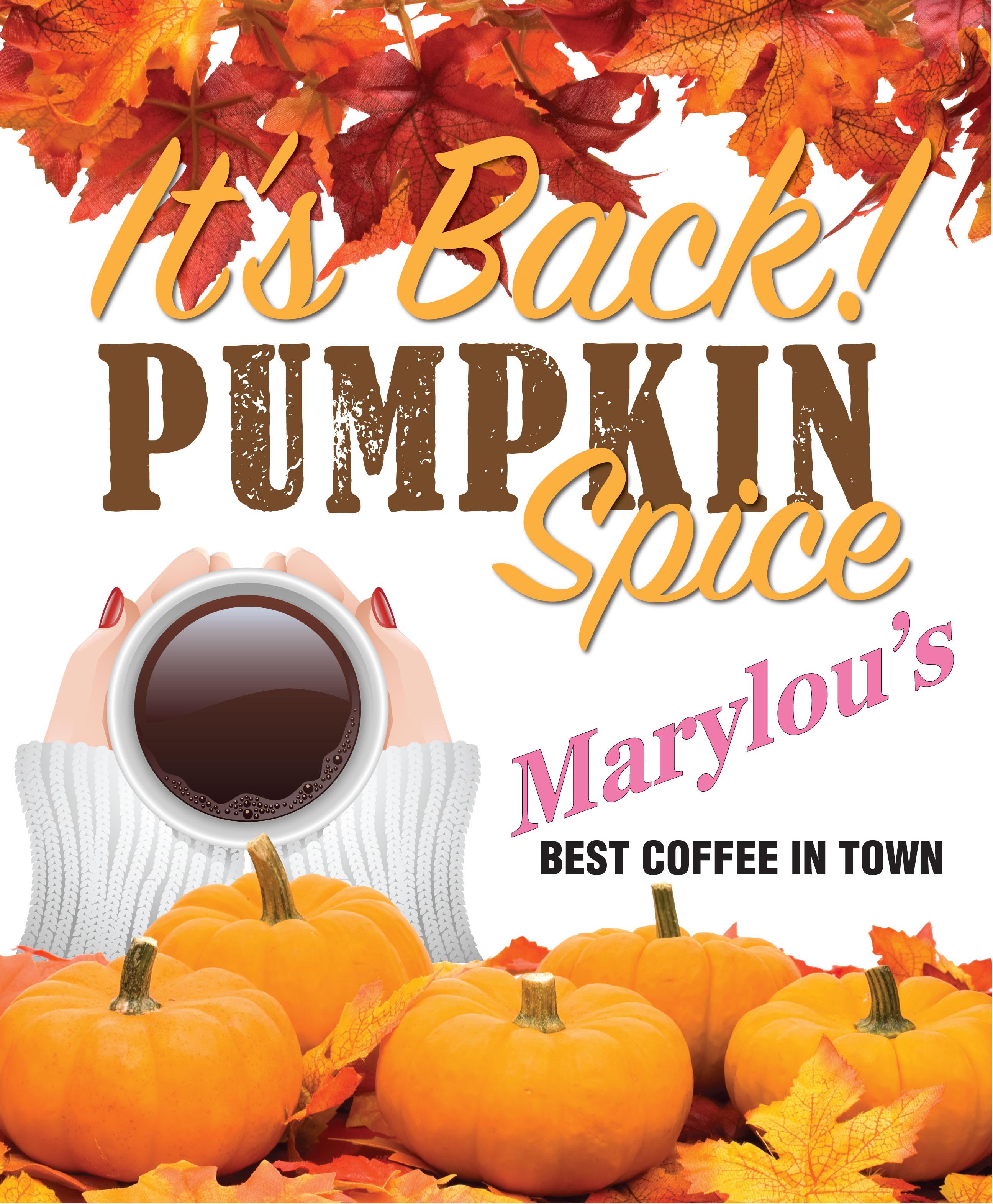 Pumpkin Spice is Back!