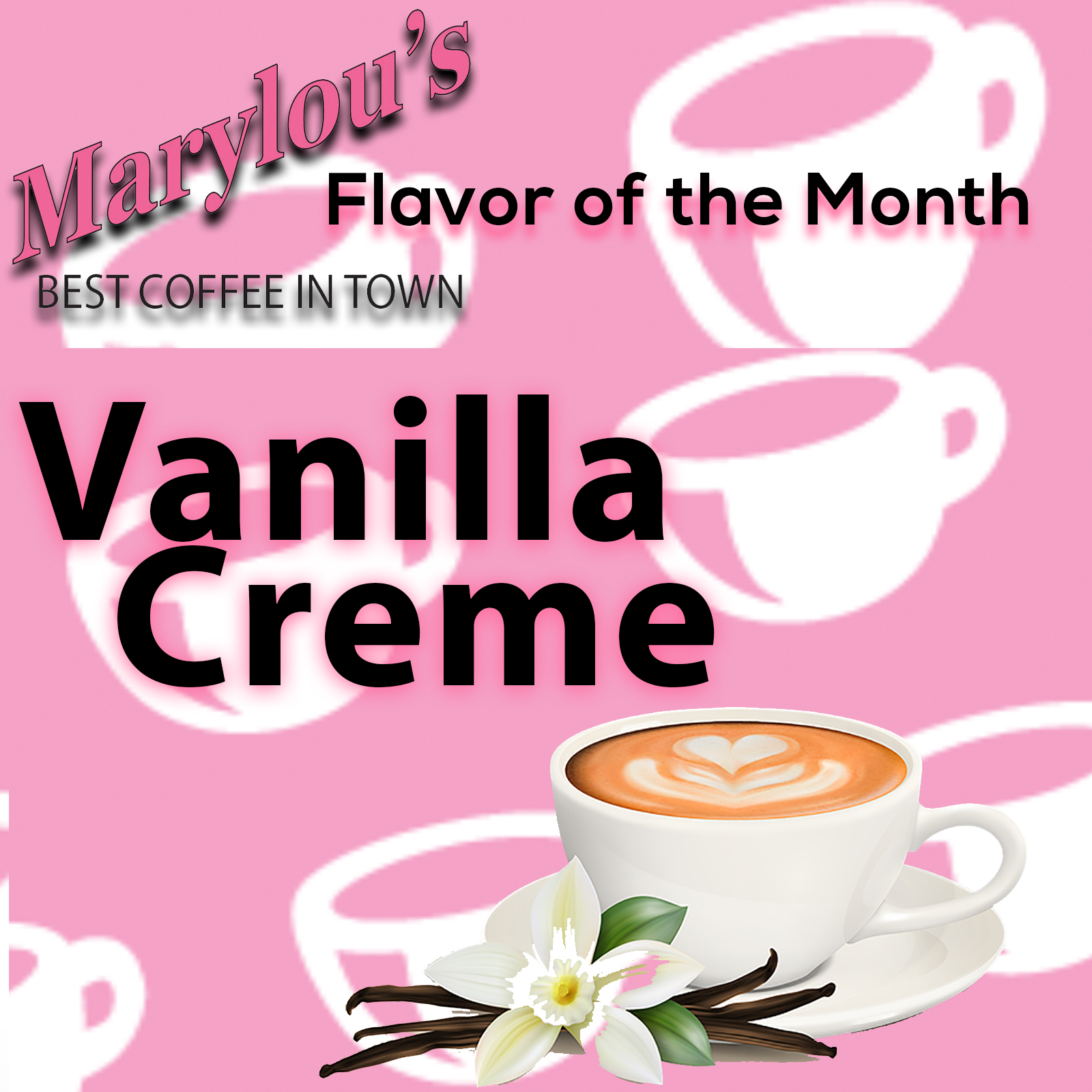 May Flavor of the Month: Vanilla Creme